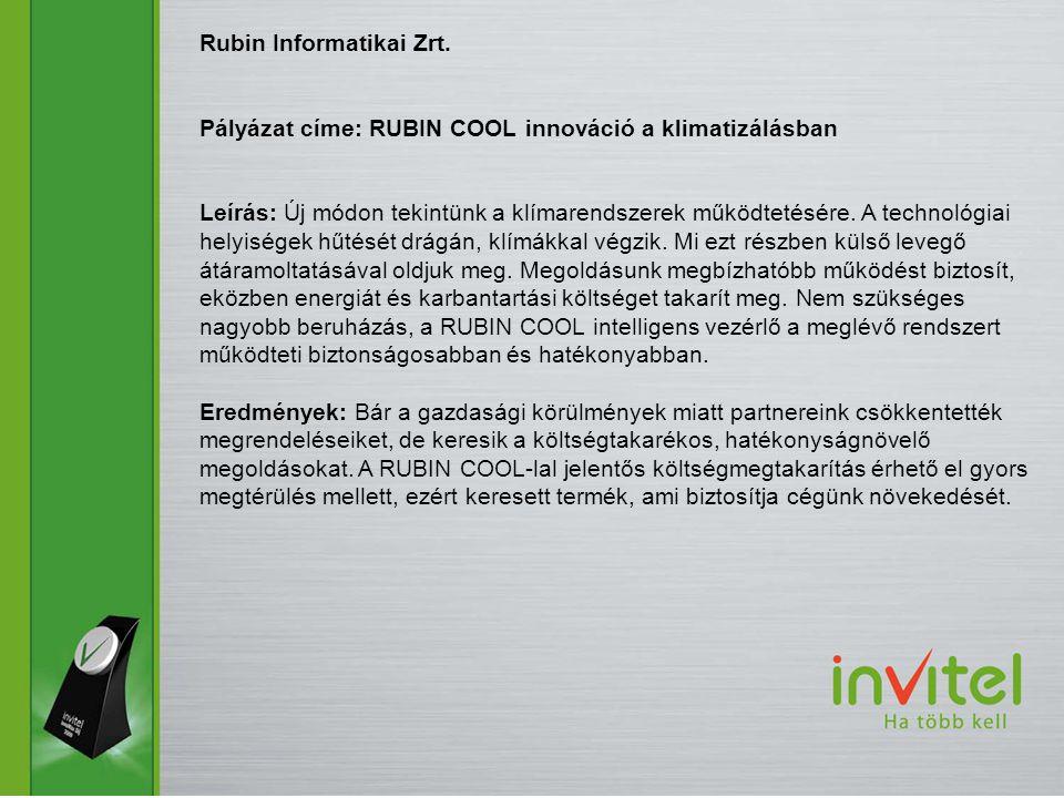 Rubin Informatikai Zrt.