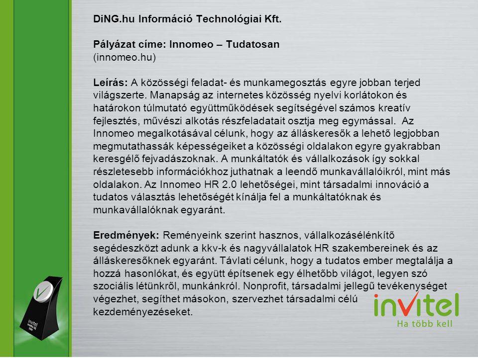 DiNG. hu Információ Technológiai Kft