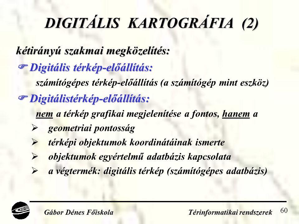 DIGITÁLIS KARTOGRÁFIA (2)