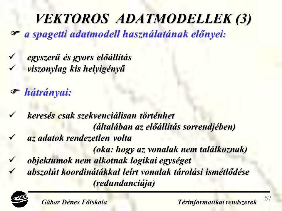 VEKTOROS ADATMODELLEK (3)