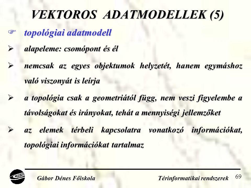 VEKTOROS ADATMODELLEK (5)