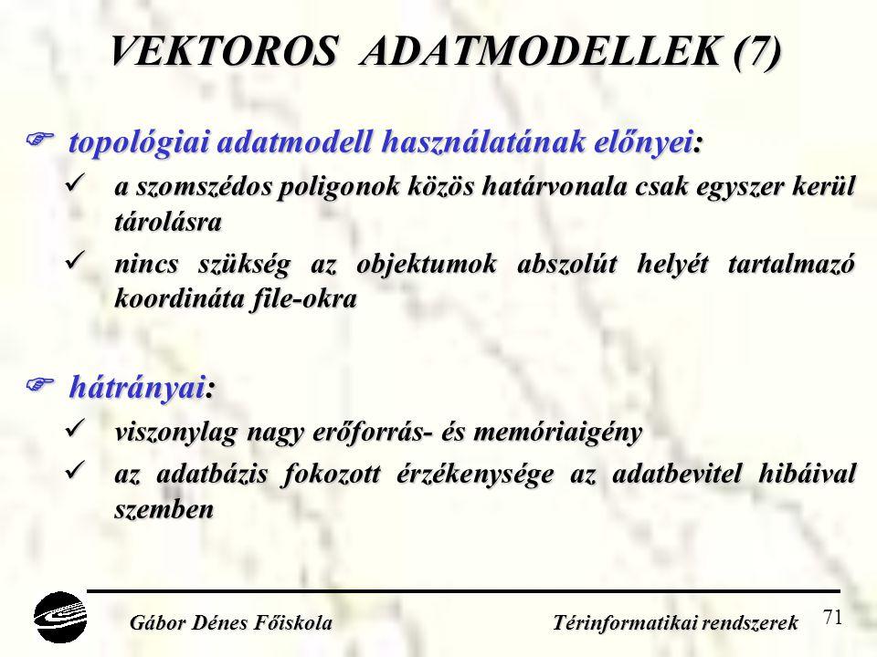 VEKTOROS ADATMODELLEK (7)