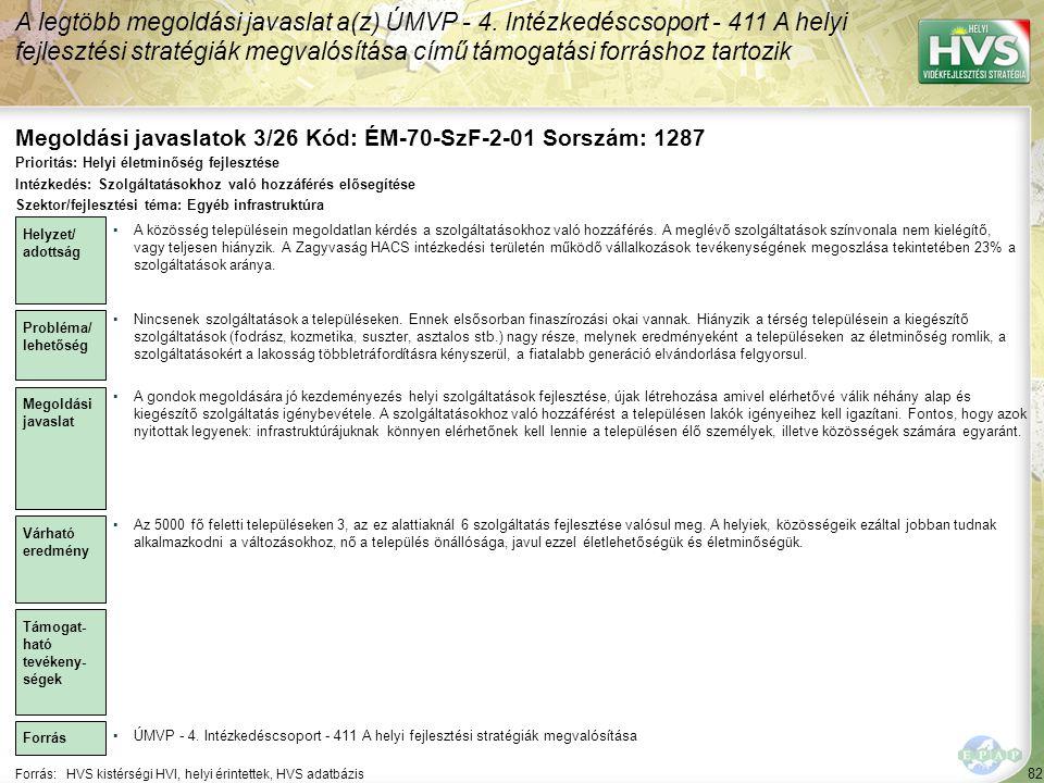 Megoldási javaslatok 3/26 Kód: ÉM-70-SzF-2-01 Sorszám: 1287