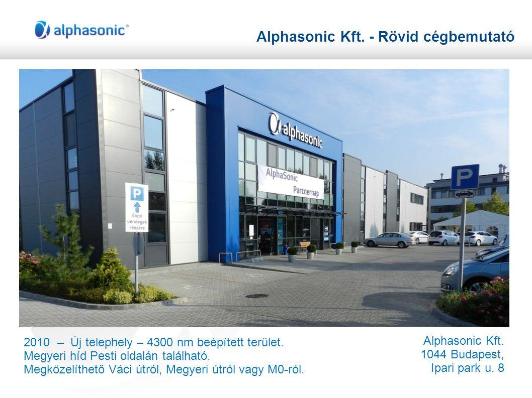 Alphasonic Kft. - Rövid cégbemutató
