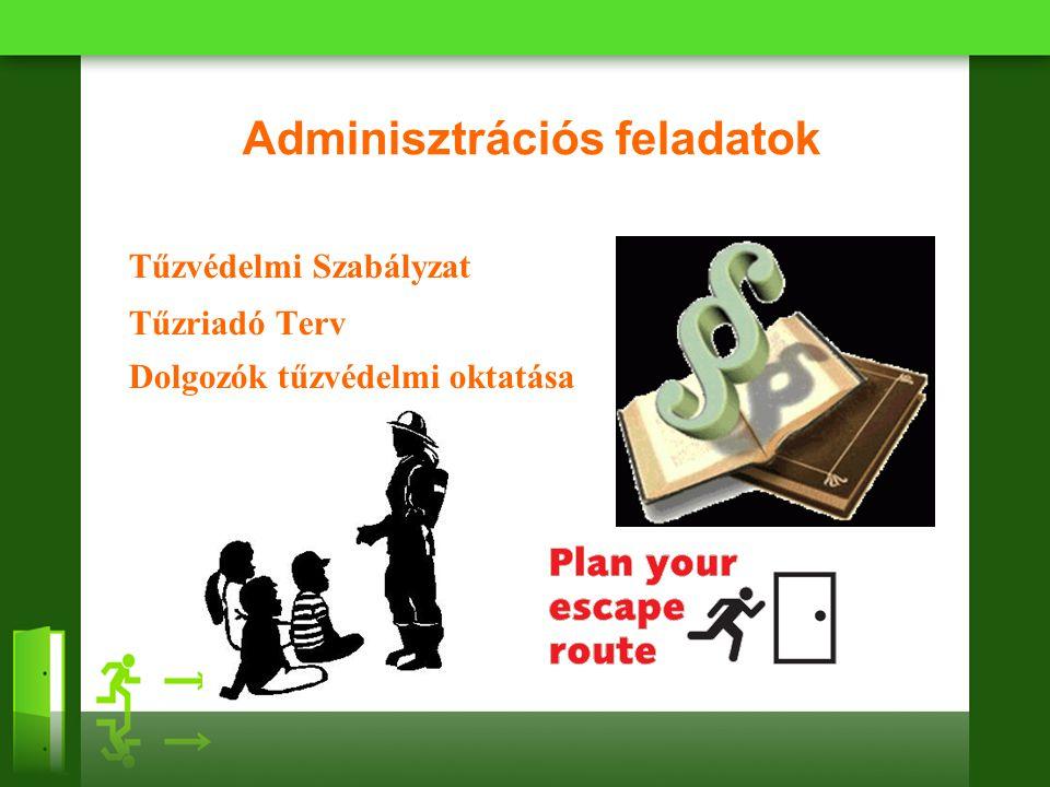 Adminisztrációs feladatok