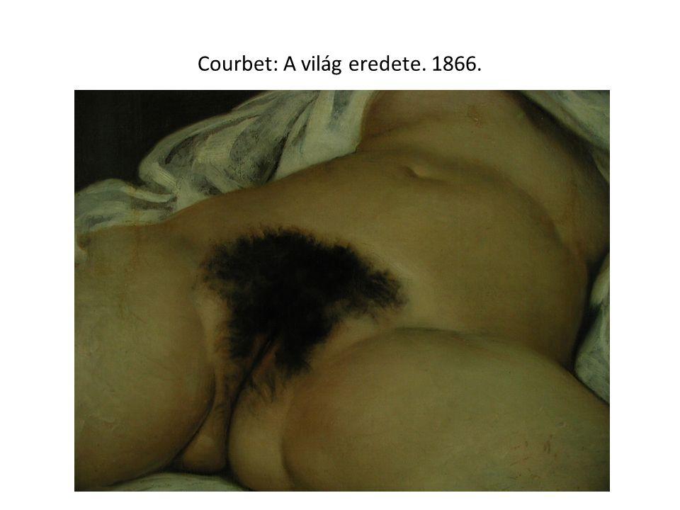 Courbet: A világ eredete. 1866.