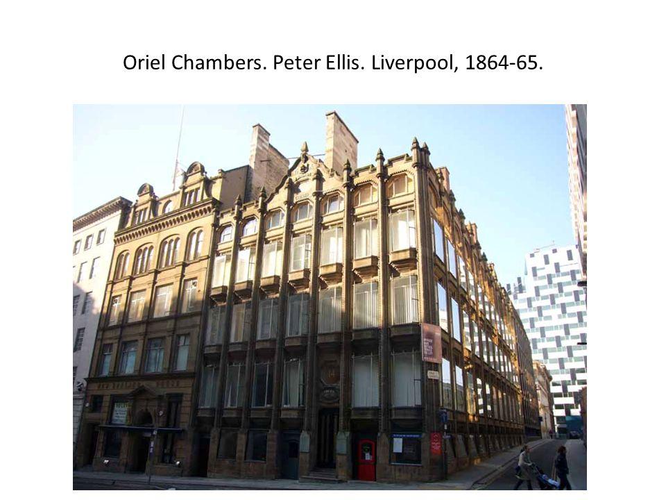 Oriel Chambers. Peter Ellis. Liverpool, 1864-65.