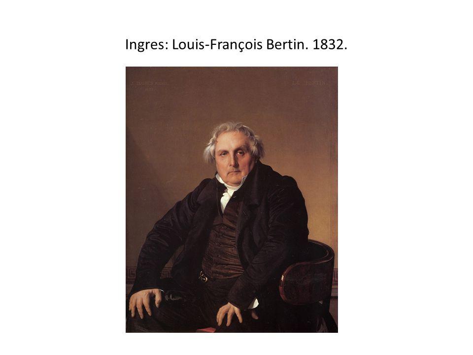 Ingres: Louis-François Bertin. 1832.