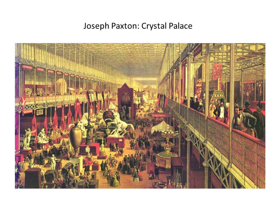 Joseph Paxton: Crystal Palace