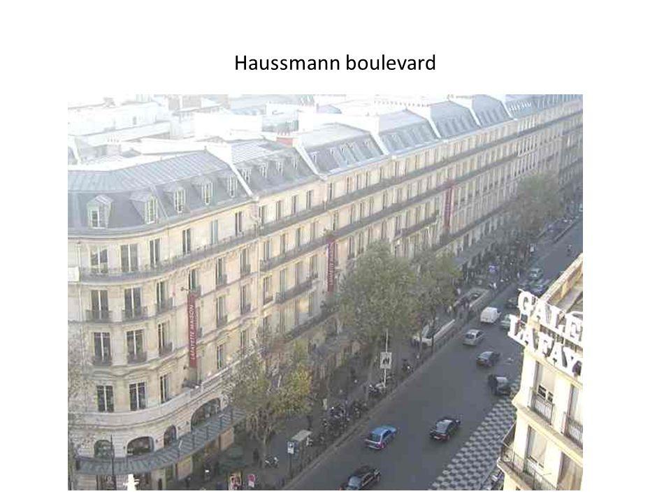 Haussmann boulevard