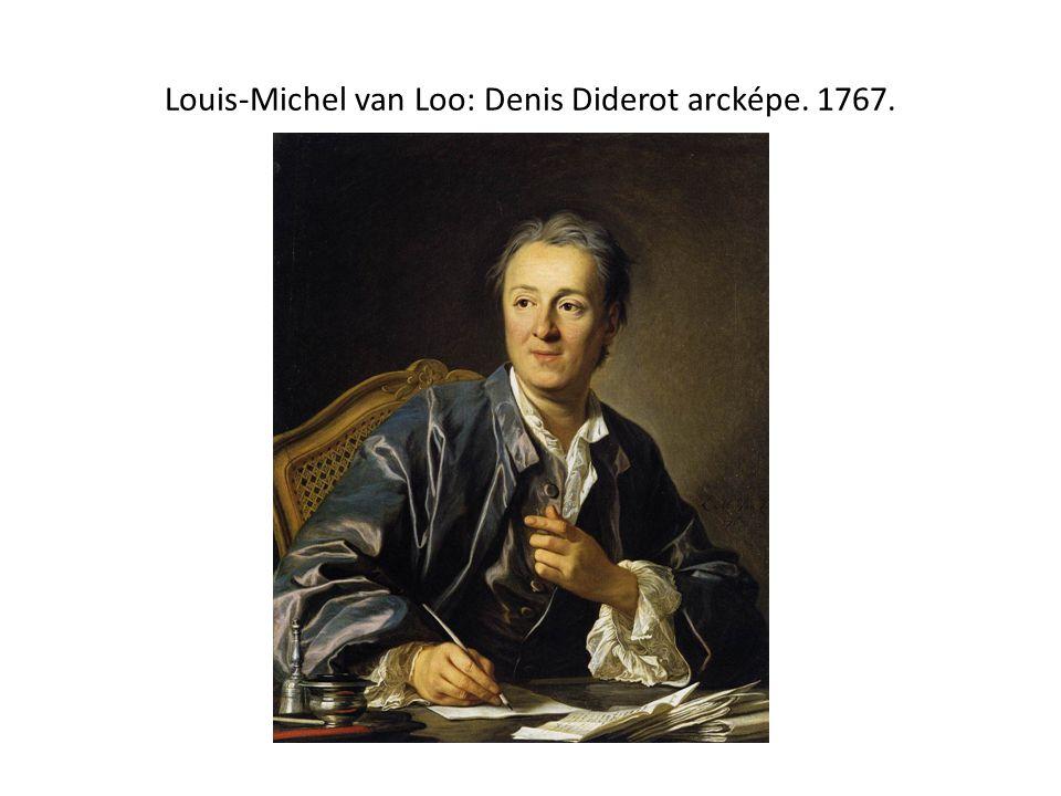 Louis-Michel van Loo: Denis Diderot arcképe. 1767.
