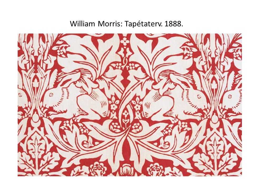 William Morris: Tapétaterv. 1888.