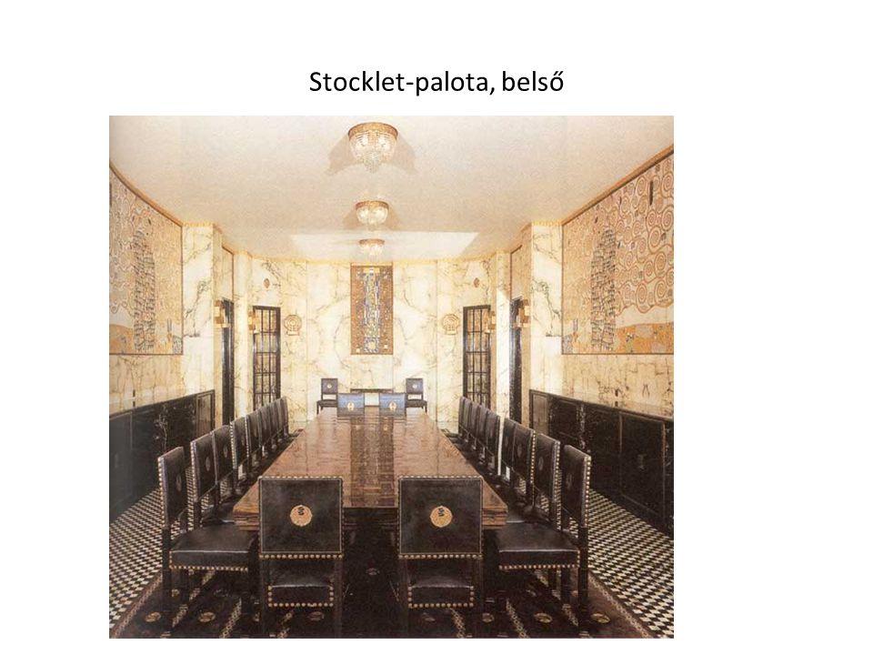 Stocklet-palota, belső