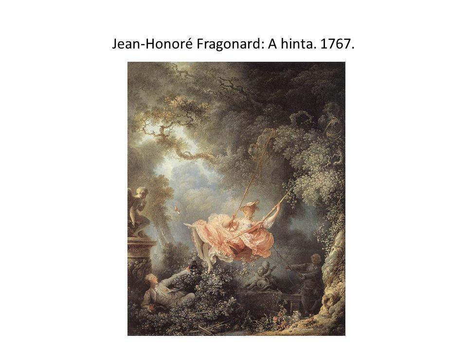 Jean-Honoré Fragonard: A hinta. 1767.