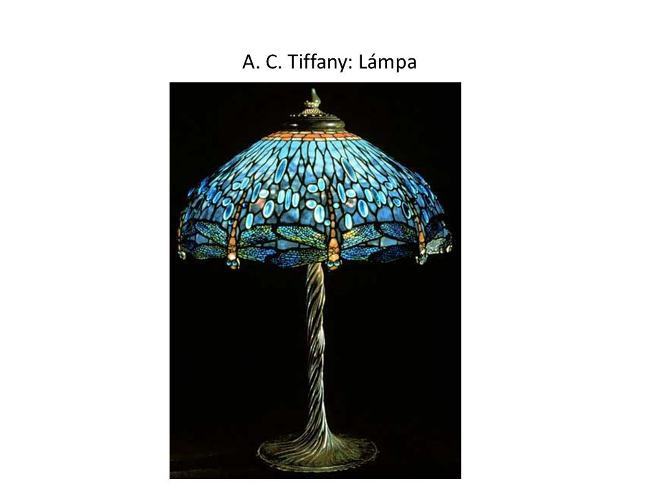 A. C. Tiffany: Lámpa