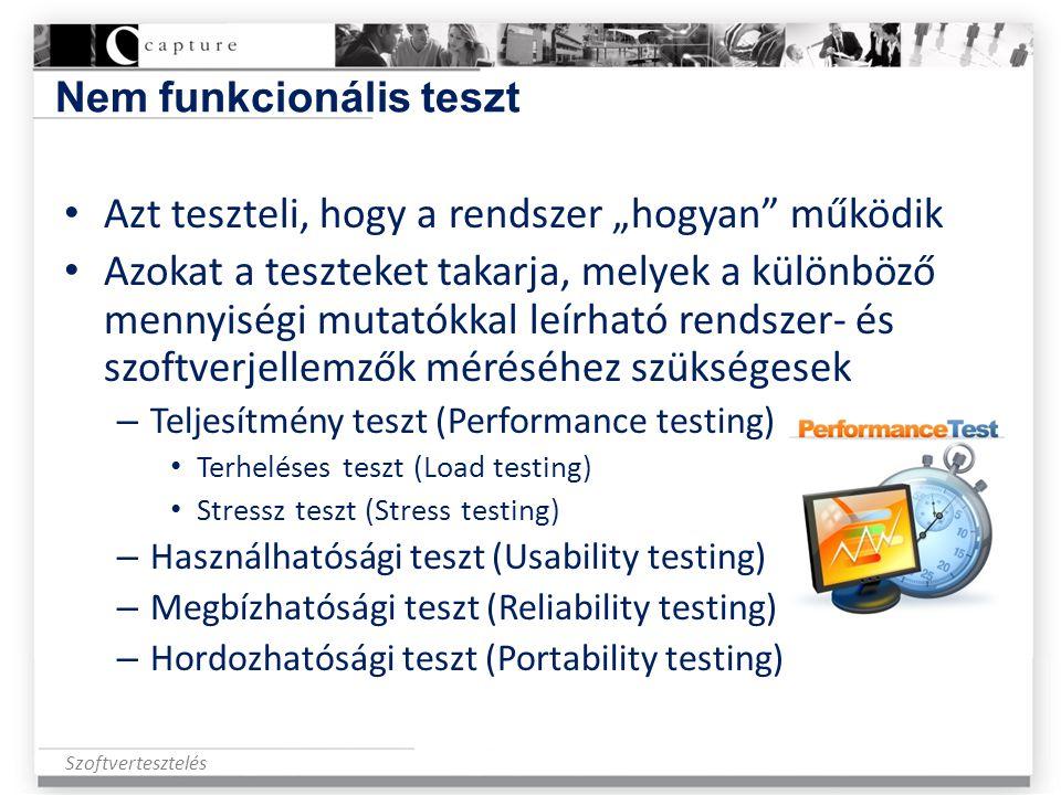 Nem funkcionális teszt