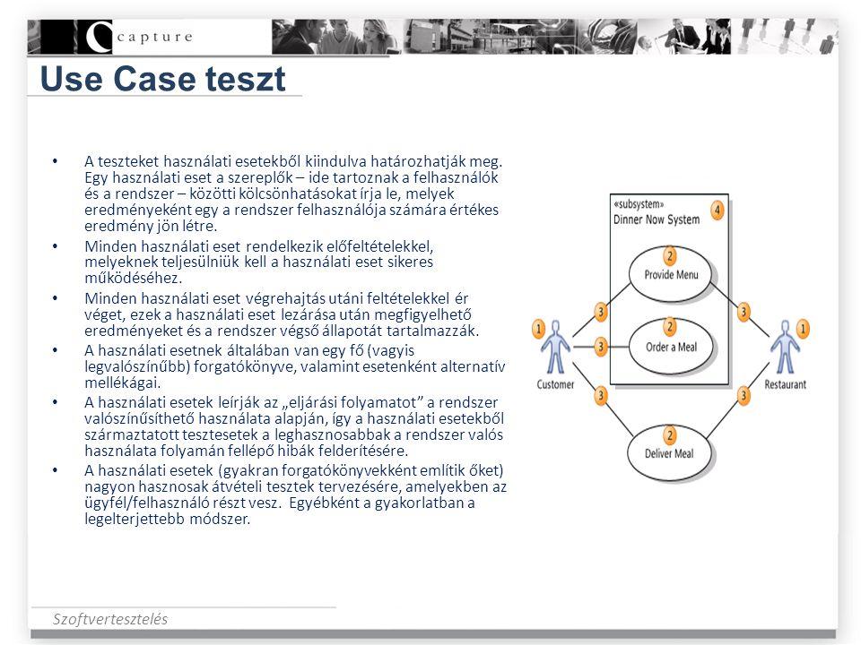 Use Case teszt