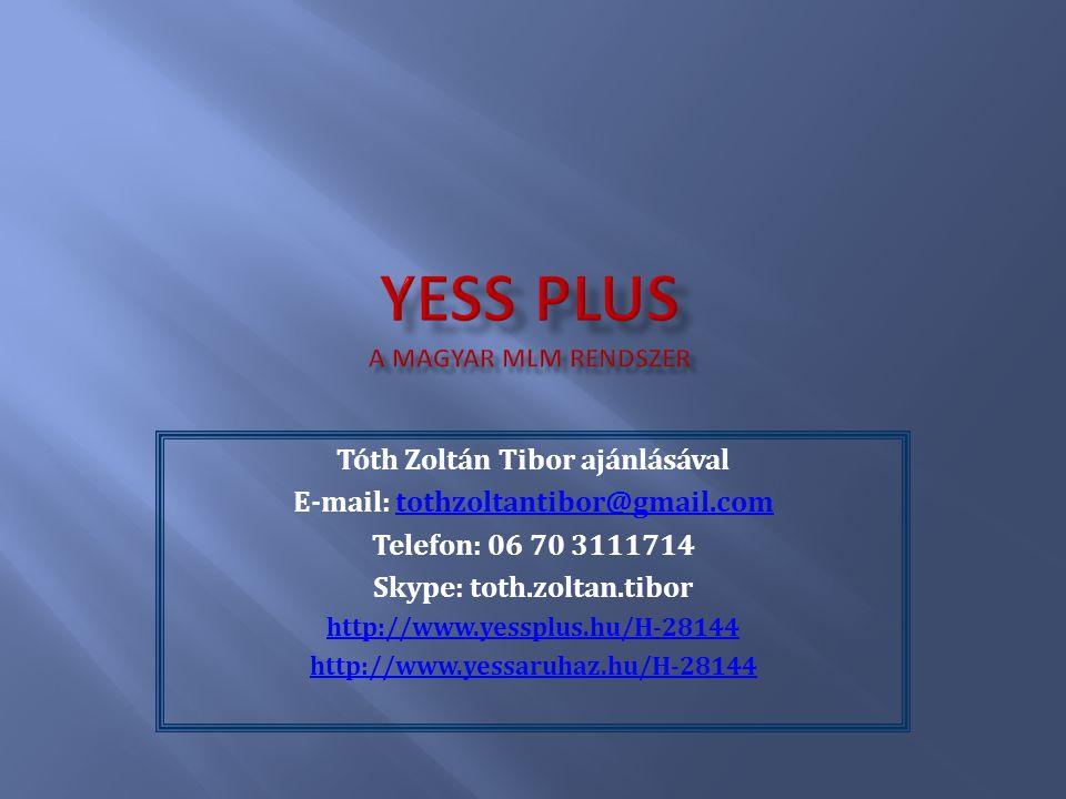 Yess Plus A magyar mlm rendszer