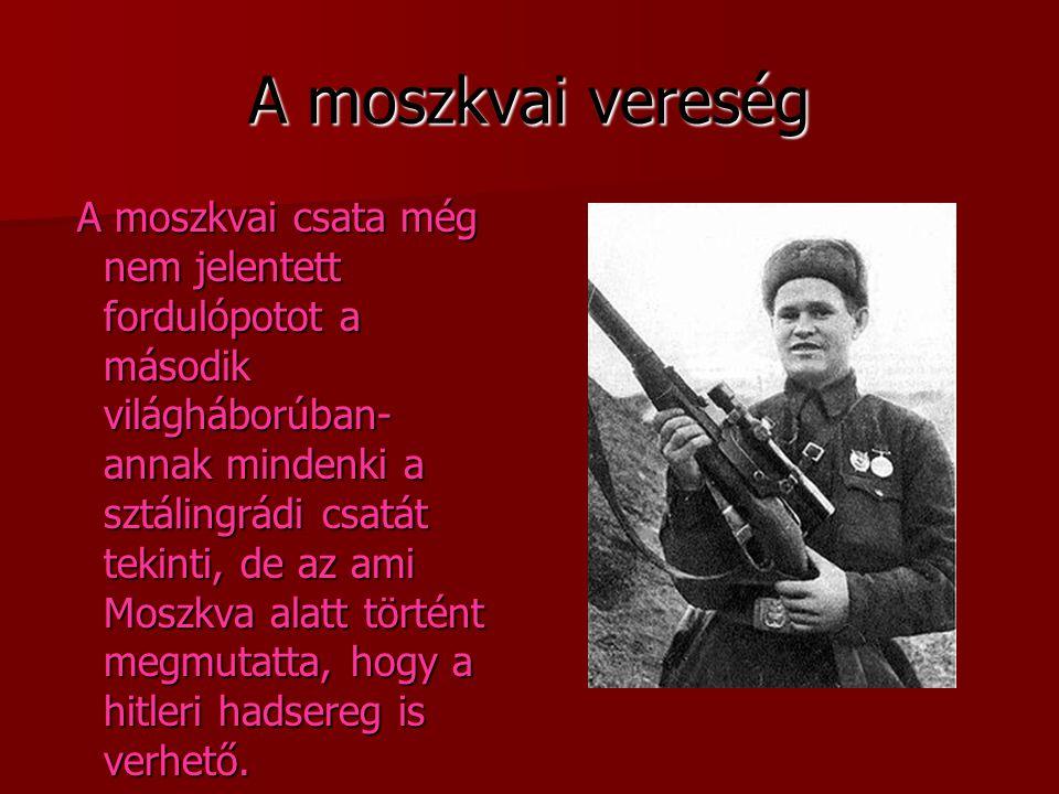 A moszkvai vereség