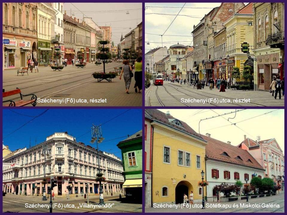 Széchenyi (Fő) utca, részlet Széchenyi (Fő) utca, részlet