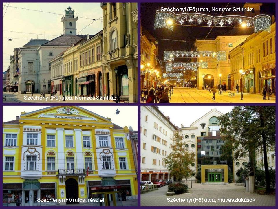 Széchenyi (Fő) utca, Nemzeti Színház