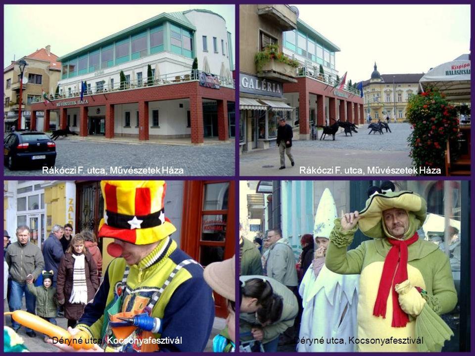 Rákóczi F. utca, Művészetek Háza Rákóczi F. utca, Művészetek Háza