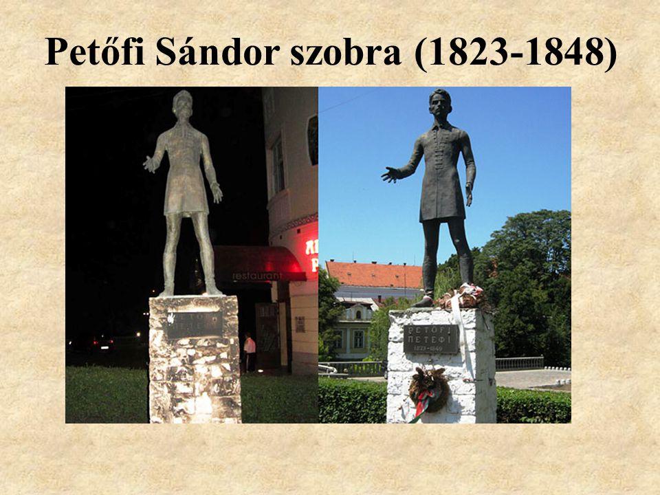 Petőfi Sándor szobra (1823-1848)