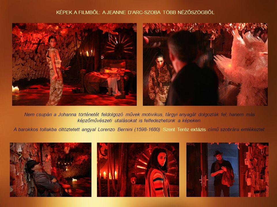 KÉPEK A FILMBŐL: A JEANNE D'ARC-SZOBA TÖBB NÉZŐSZÖGBŐL