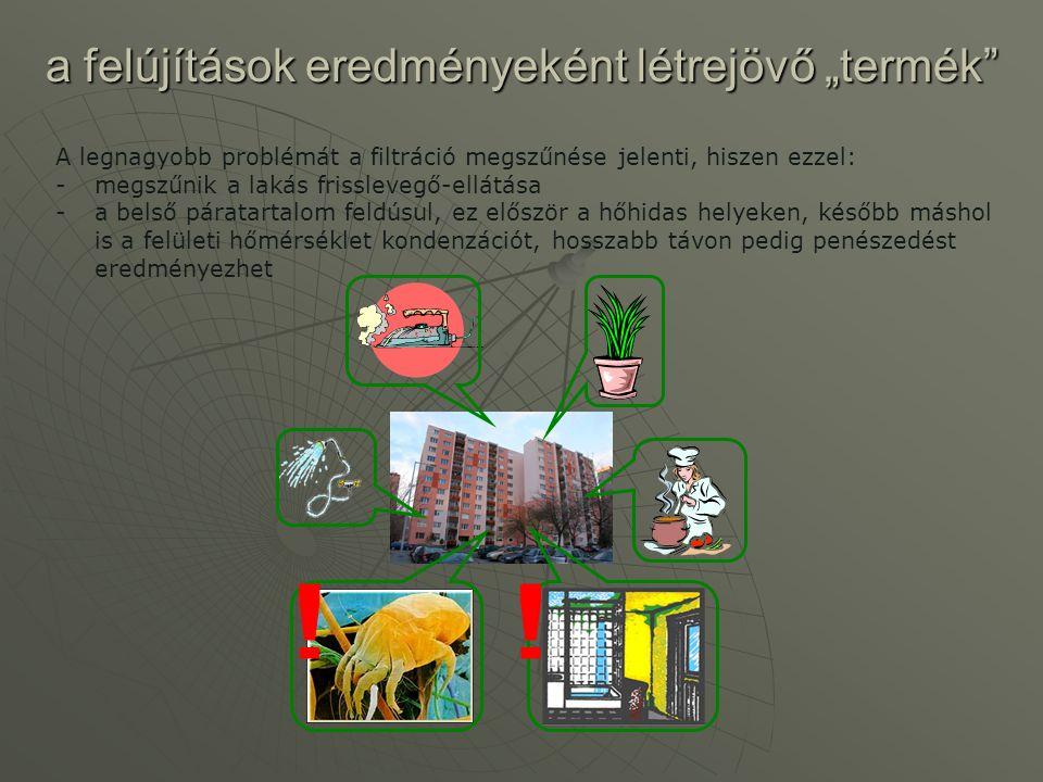 """a felújítások eredményeként létrejövő """"termék"""