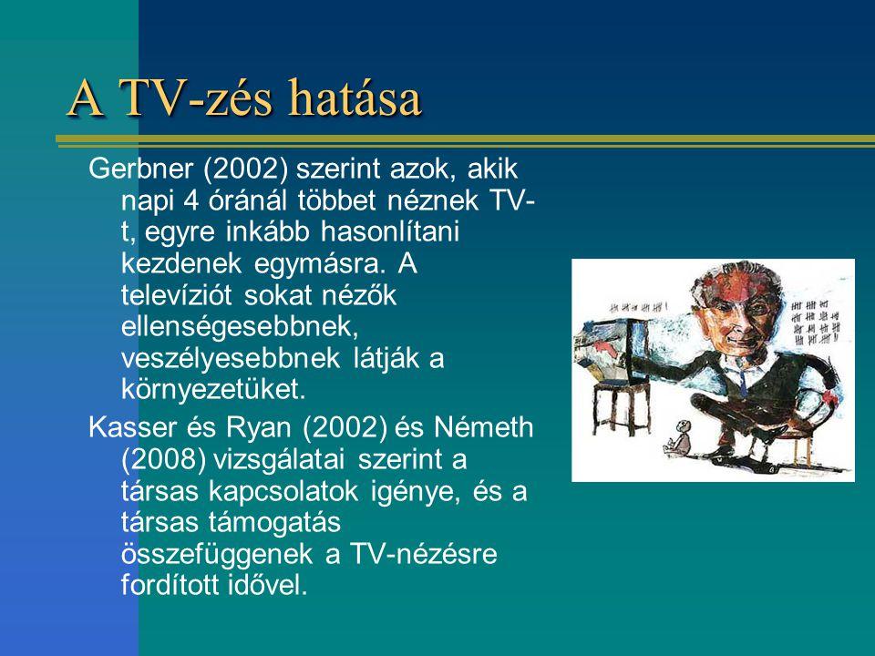 A TV-zés hatása