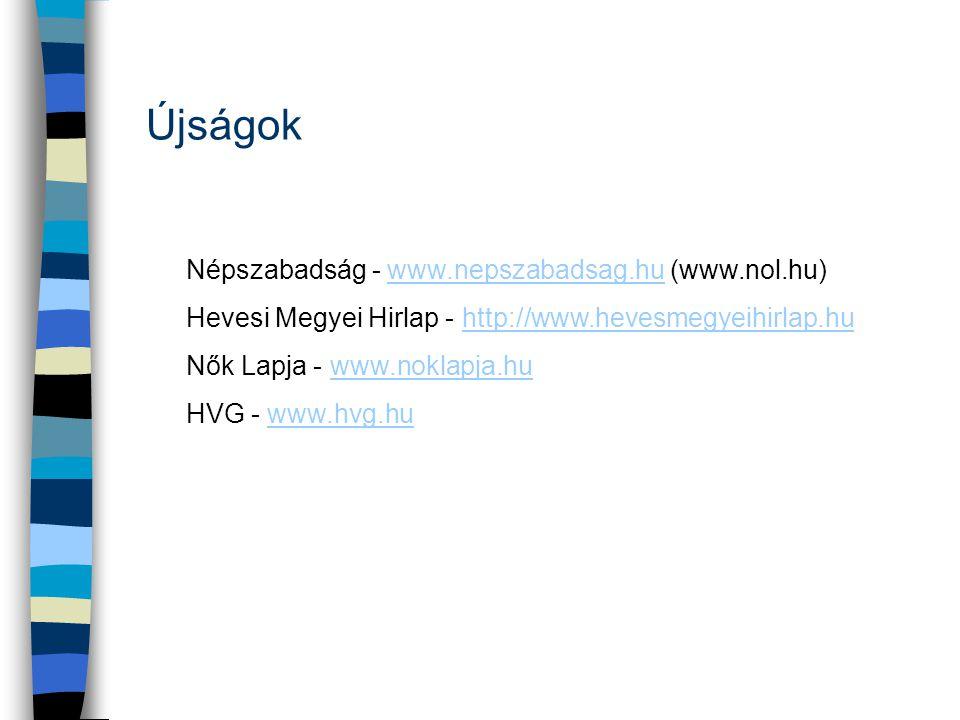 Újságok Népszabadság - www.nepszabadsag.hu (www.nol.hu)