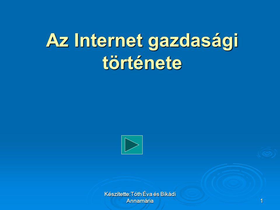Az Internet gazdasági története
