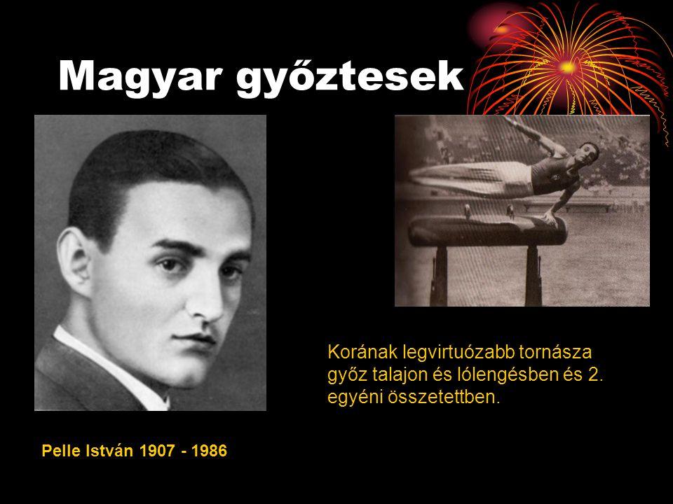 Magyar győztesek Korának legvirtuózabb tornásza győz talajon és lólengésben és 2. egyéni összetettben.