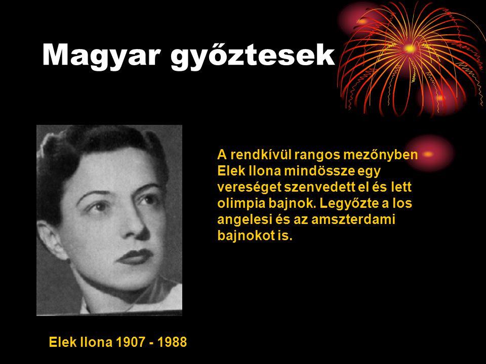 Magyar győztesek