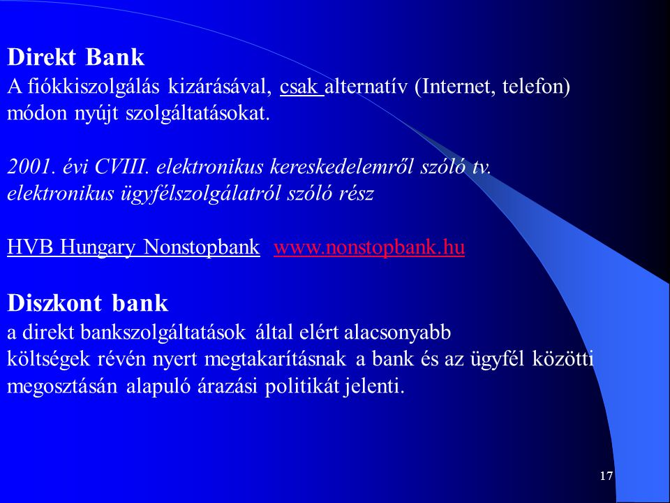 Direkt Bank Diszkont bank