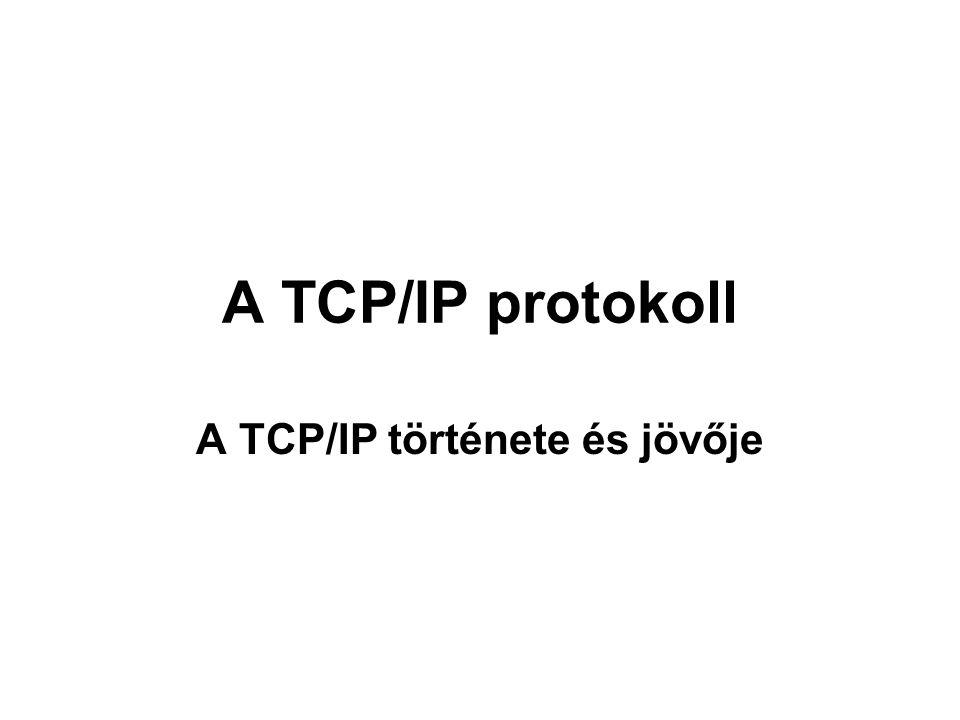 A TCP/IP története és jövője