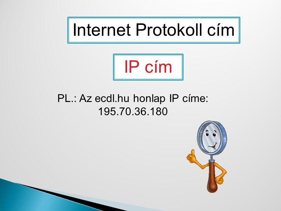 Internet Protokoll cím