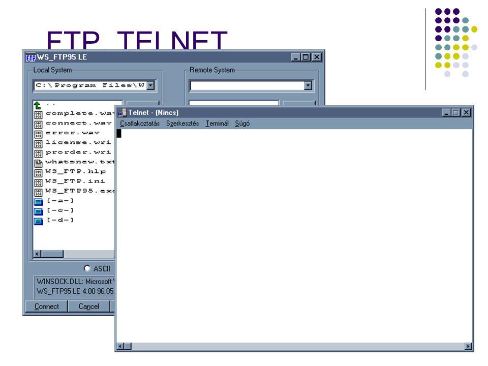 FTP, TELNET