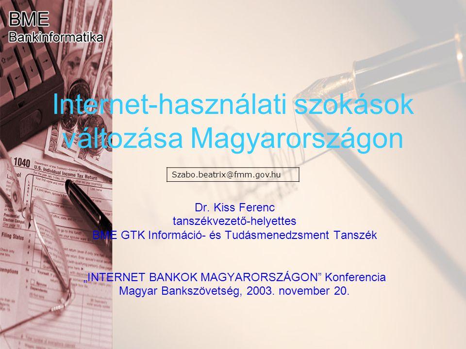 Internet-használati szokások változása Magyarországon