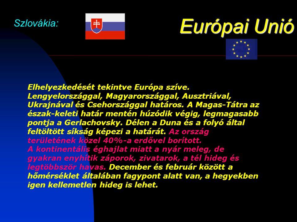 Európai Unió Szlovákia: