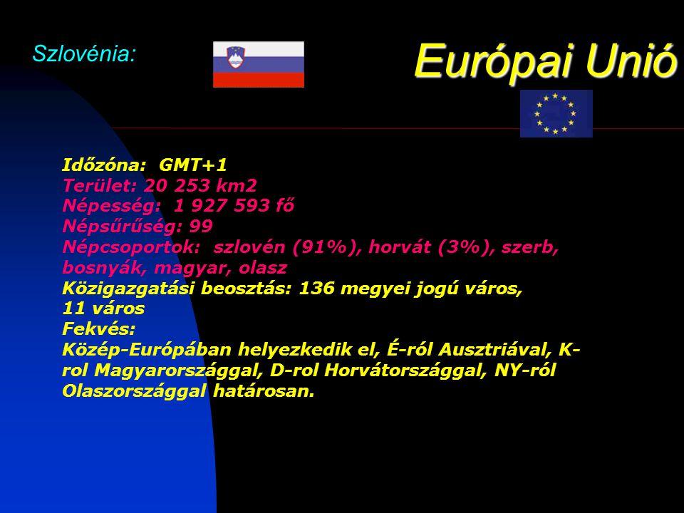 Európai Unió Szlovénia: