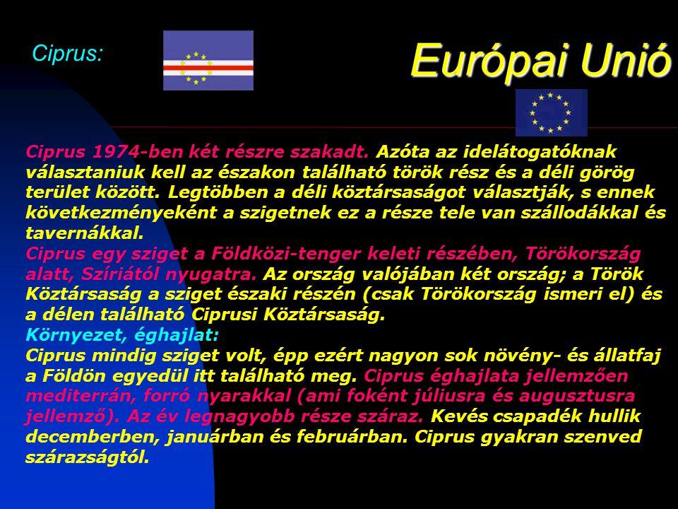 Európai Unió Ciprus: