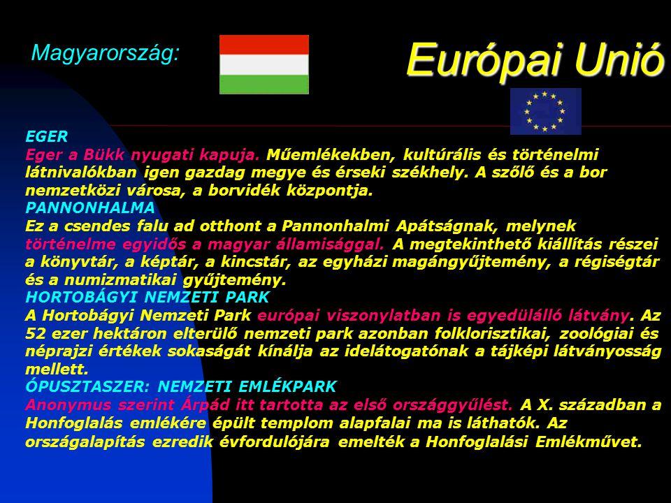Európai Unió Magyarország: EGER