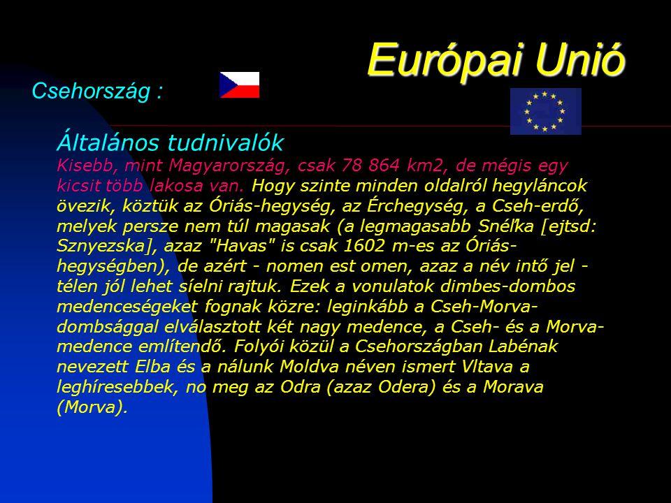 Európai Unió Csehország :