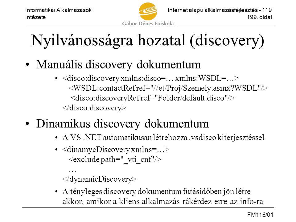 Nyilvánosságra hozatal (discovery)