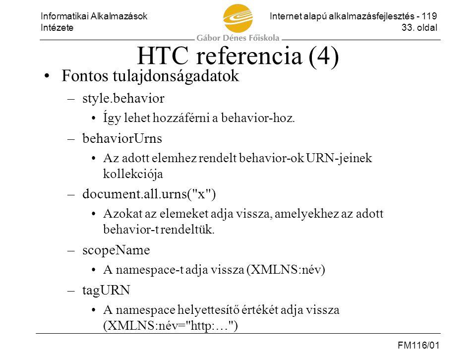 HTC referencia (4) Fontos tulajdonságadatok style.behavior