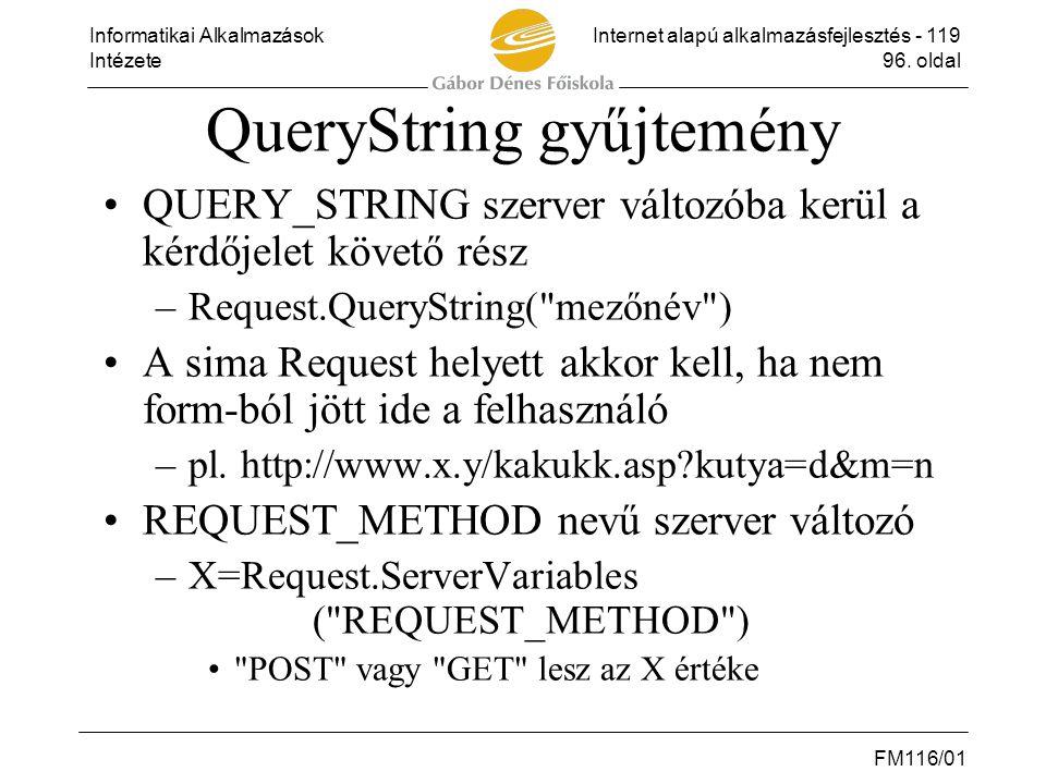 QueryString gyűjtemény