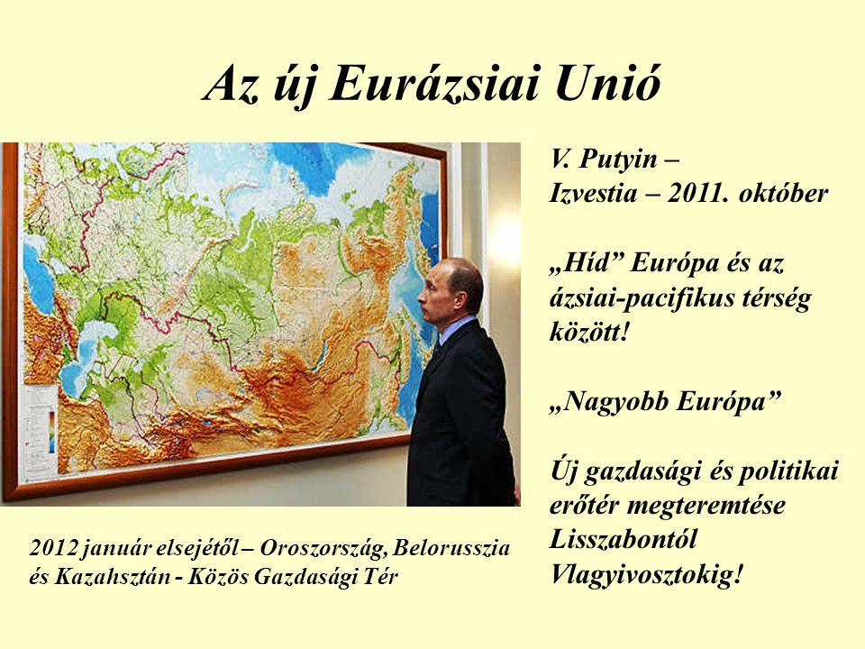 Az új Eurázsiai Unió V. Putyin – Izvestia – 2011. október