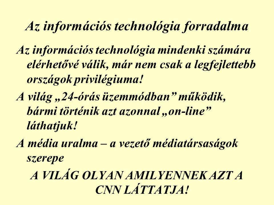Az információs technológia forradalma