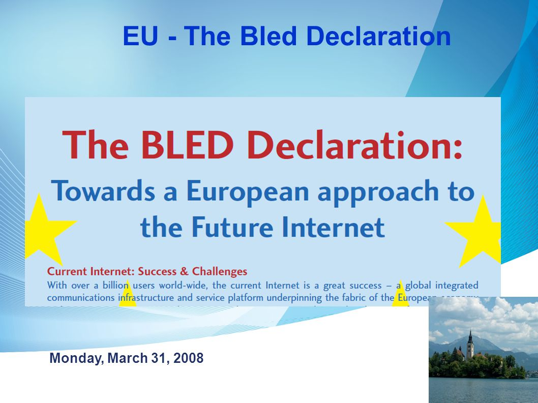 EU - The Bled Declaration
